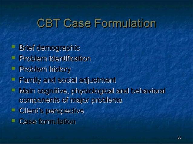 cbt case formulation