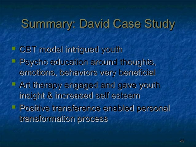 Cognitive evolutionary therapy for depression: a case study