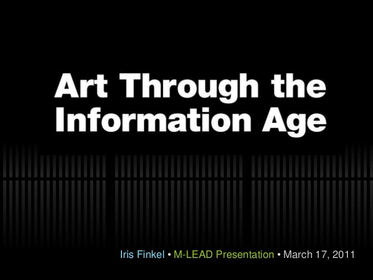 Iris Finkel  •  M-LEAD Presentation  •  March 17, 2011