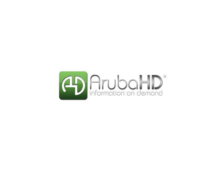 Aruba HD Deck