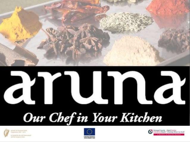 Aruna Sauces - Food Development Workshop