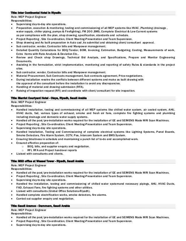 Hvac Sample Resume | Resume Samples and Resume Help