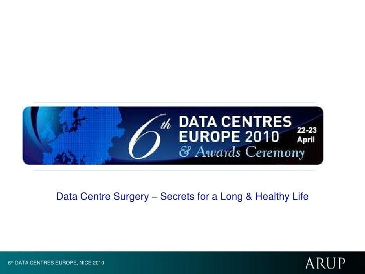 Data Centre Surgery – Secrets for a Long & Healthy Life<br />