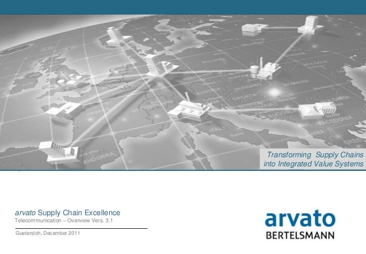 Arvato sytems supply chain Excellene overview_telco vers.3.1.1