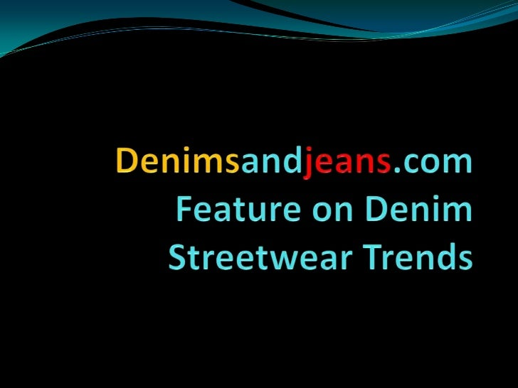 Denim Trends in Indian Streetwear by Arvind