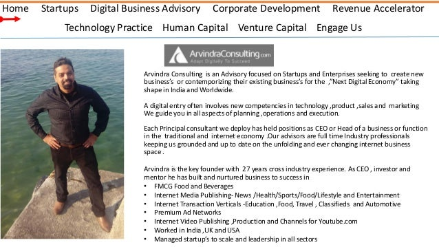 Arvindra consulting -Digital Strategy Advisory