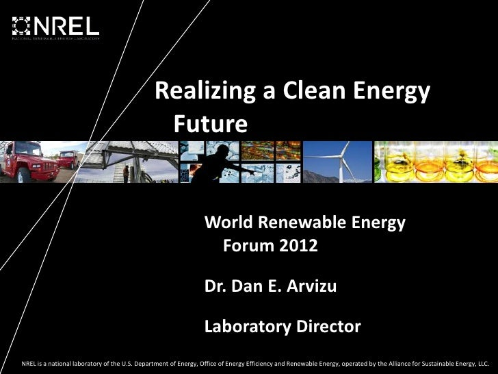 Realizing a Clean Energy                                                Future                                            ...