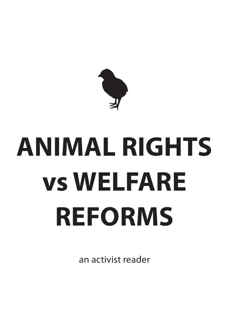 Animal Rights vs Welfare Reforms Reader