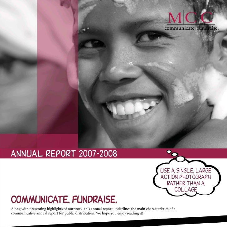 Murray Culshaw Consulting - Annual Report 2007-08