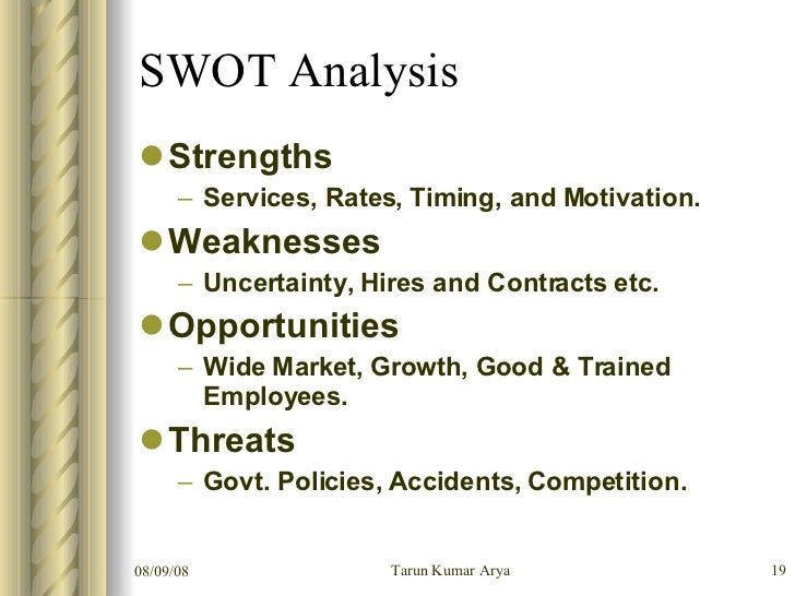 staffing agency swot analysis For state of alaska agencies  in staffing patterns emerging  opportunities, and threats (swot) analysis the agency will need to.