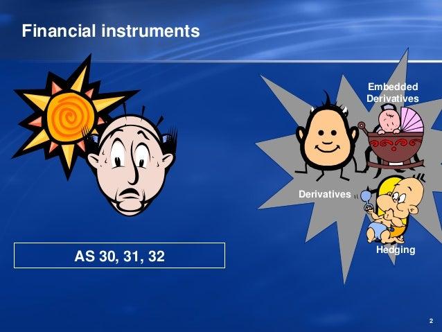 Financial instruments                                      Embedded                                      Derivatives      ...