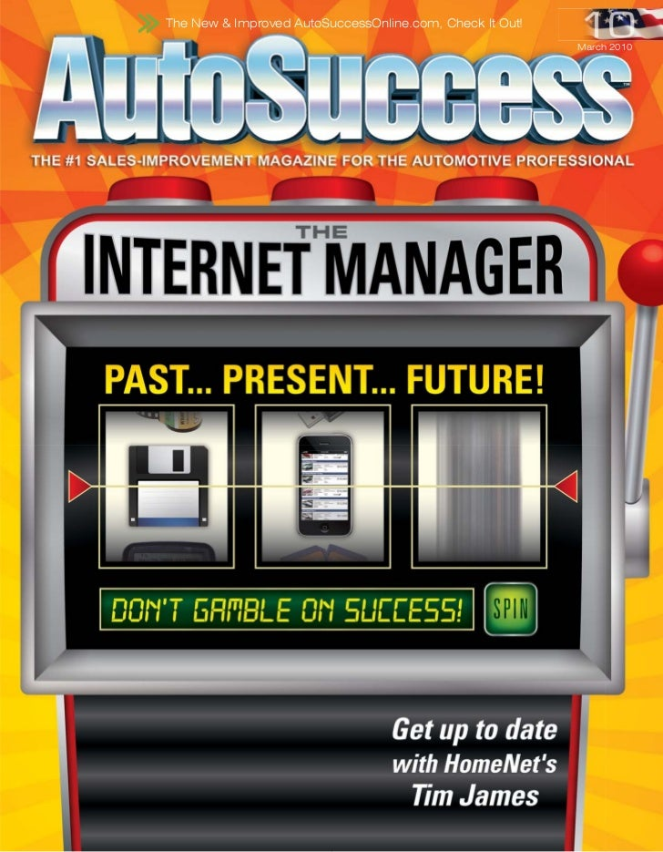 The New & Improved AutoSuccessOnline.com, Check It Out!                                                          March 2010