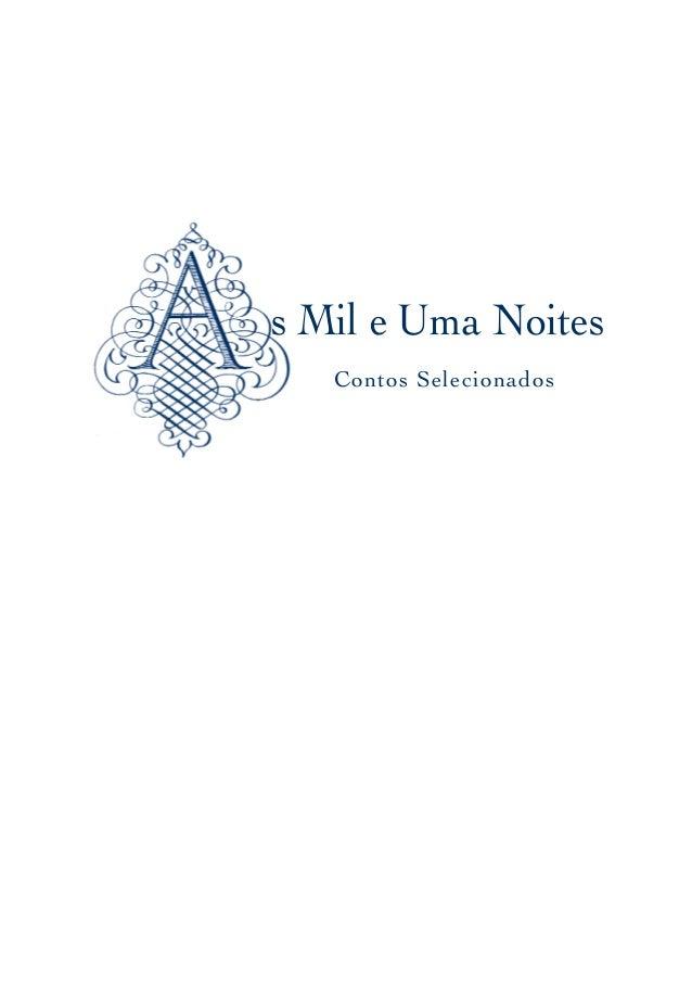 Contos Selecionados s Mil e Uma Noites paginação final.qx4.0 1/17/07 8:50 AM Página 1