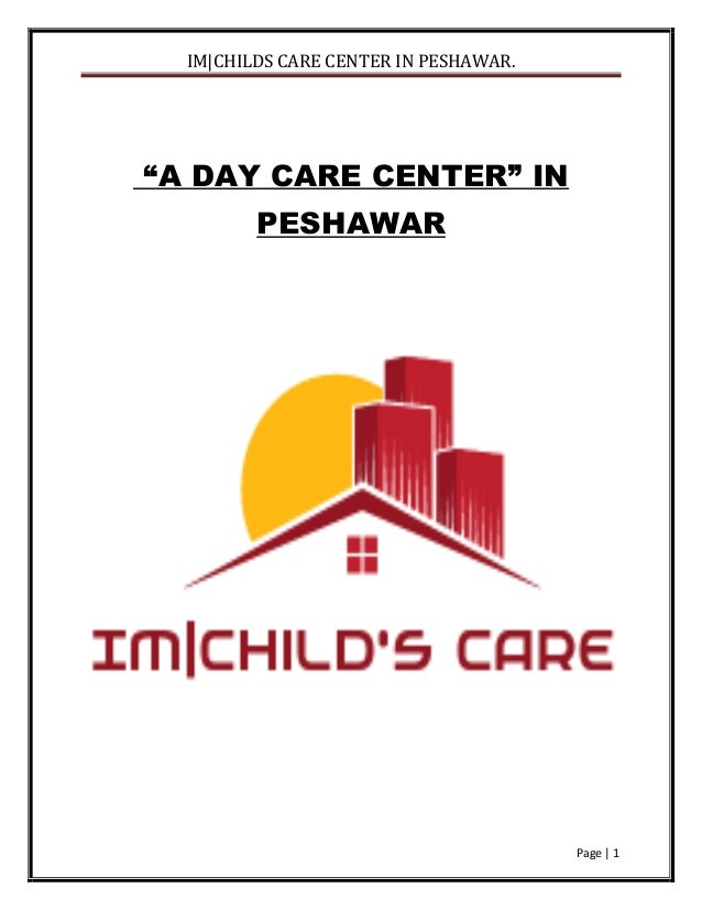 Child day care business plan