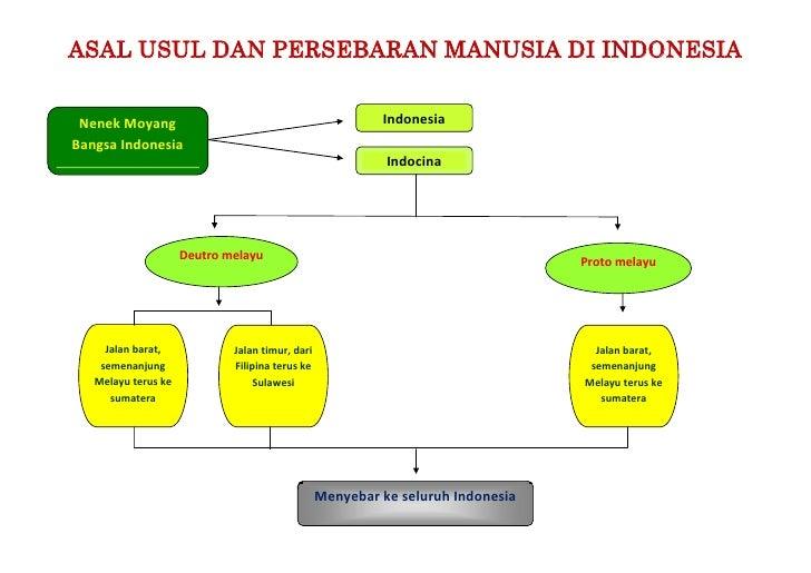 ASAL USUL DAN PERSEBARAN MANUSIA DI INDONESIA Nenek Moyang                                             IndonesiaBangsa Ind...