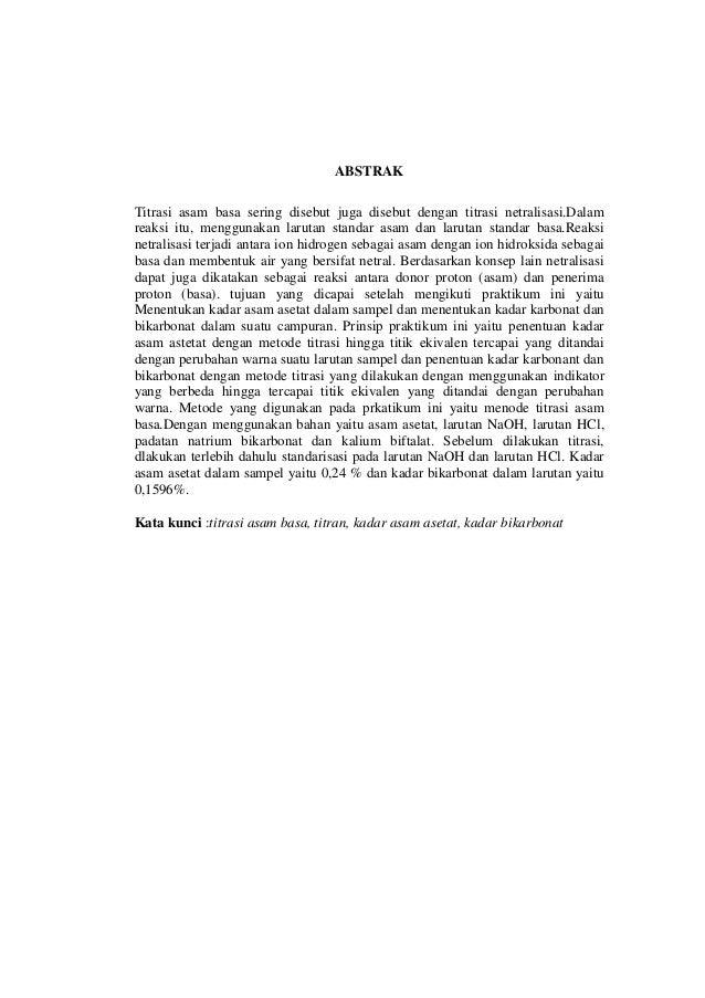 Jurnal Titrasi Permanganometri Pdf