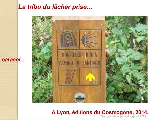 caracol… La tribu du lâcher prise… Georges Bertin, jacquet angevin, 2009. A Lyon, éditions du Cosmogone, 2014.