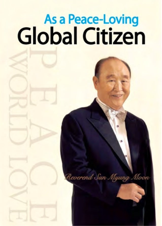 As A Peace-Loving Global Citizen