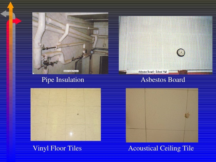 How to identify asbestos ceiling tiles