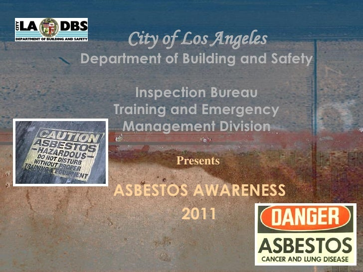 City of Los AngelesDepartment of Building and Safety        Inspection Bureau    Training and Emergency      Management Di...