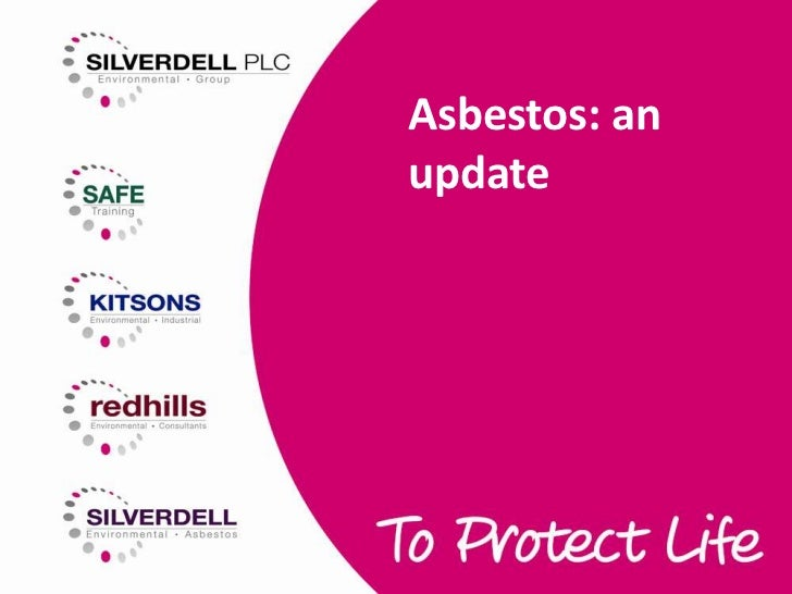 Asbestos training update   rics technical roadshow