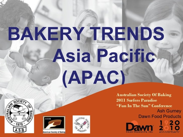 """Australian Society Of Baking 2011 Surfers Paradise """" Fun In The Sun"""" Conference Ash Gurney Dawn Food Products BAKERY TREND..."""