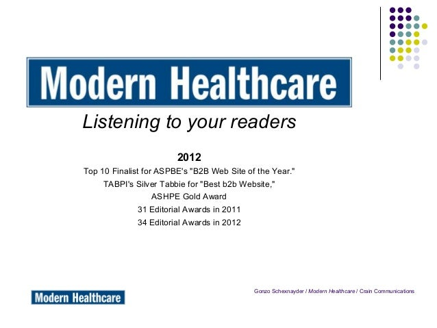 Listening To Our Readers - ASBPE Presentation - November 16, 2012
