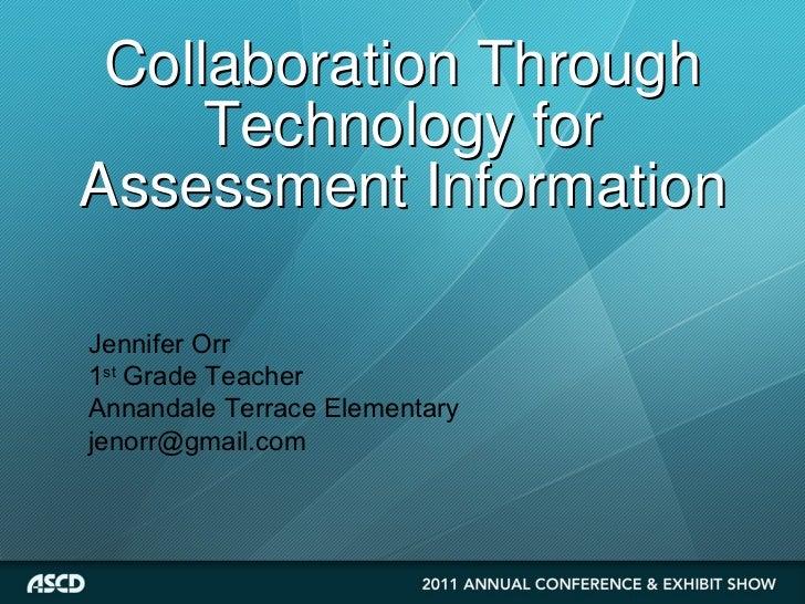 Collaborative Assessment