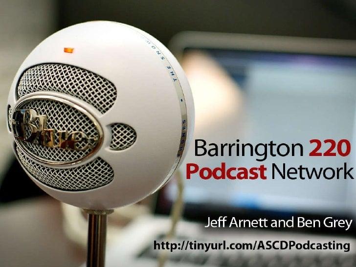 Ascd Podcast Presentation 2010