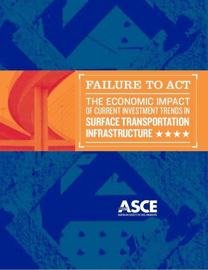 FAiluRE to ACtThe economic impacTof current Investment trends Insurface TransporTaTioninfrasTrucTure