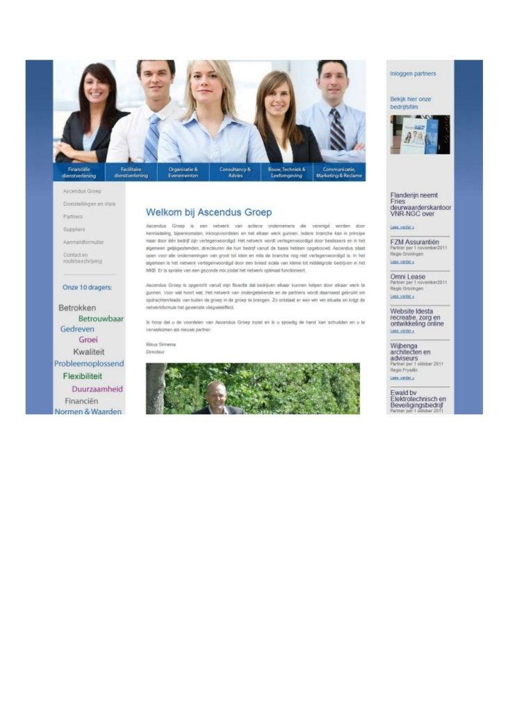 TGJ Communicatie Ascendus webdesign en teksten