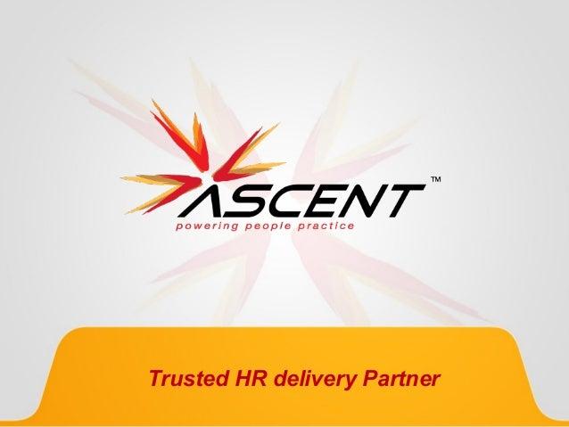 Trusted HR delivery Partner