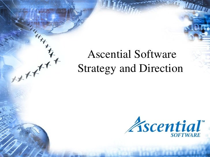 Ascential Strategy And Direction Ppt