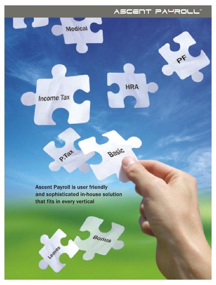 Ascent payroll brochure