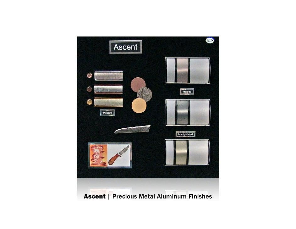 Ascent   Precious Metal Aluminum Finish mood board