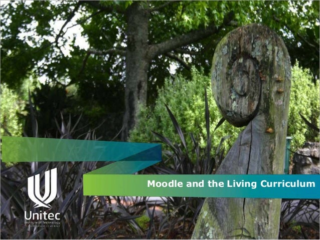 Moodle and the Living Curriculum