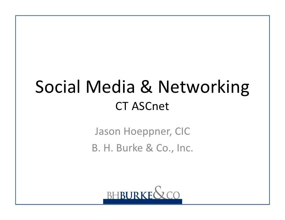 ASCnet Soc Med Nov09