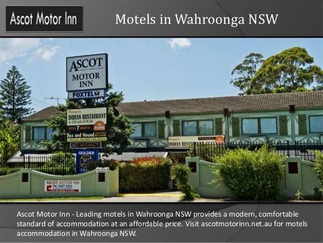 motels in wahroonga nsw. Black Bedroom Furniture Sets. Home Design Ideas