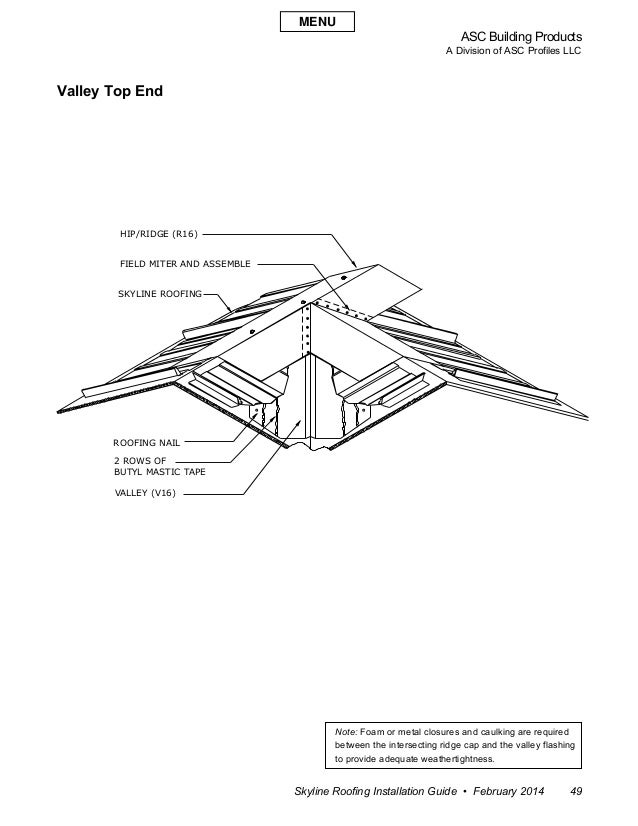 Roofing Installation Guide : Asc skyline roofing installation manual