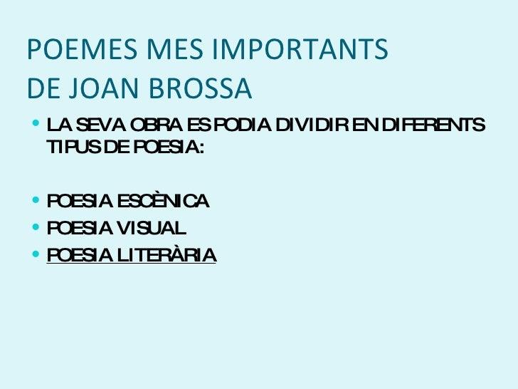 Joan Brossa eco de rua de llibres