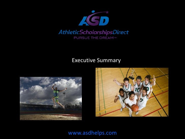 Athletic Scholarships Direct Exec Summary