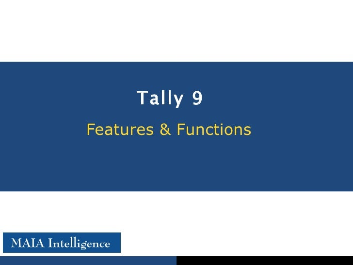 1KEY MIS for Tally data