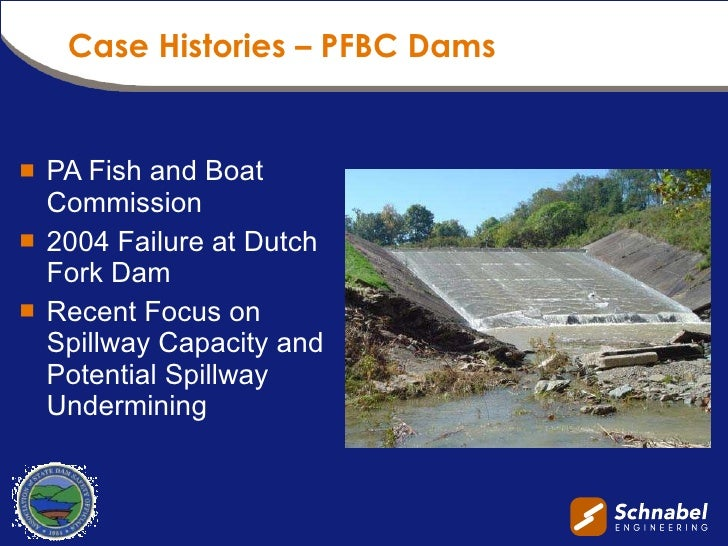 Asdso dam safety 2010 presentation for Pa boat and fish commission
