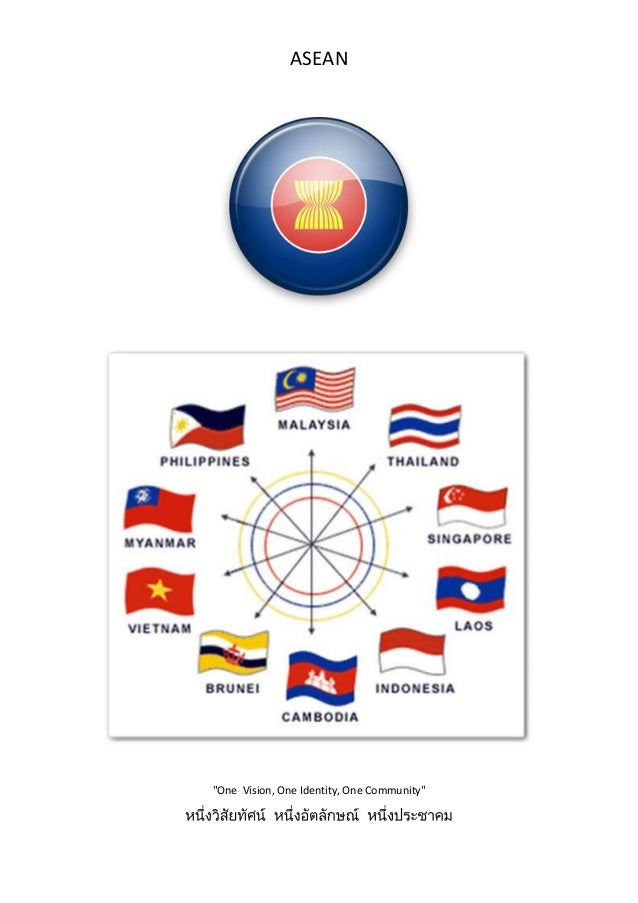 """ASEAN""""One Vision, One Identity, One Community"""""""