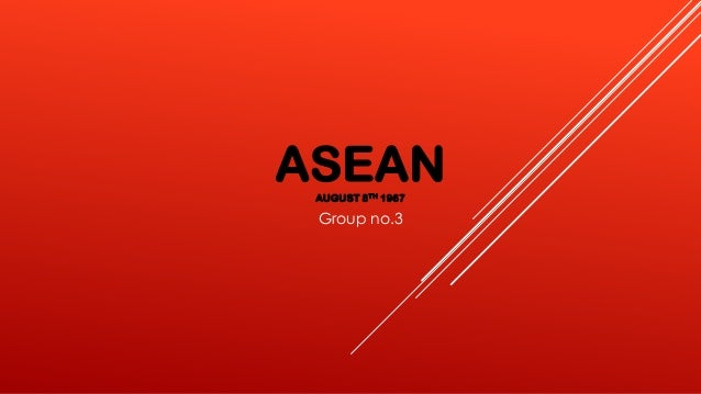 ASEANAUGUST 8TH 1967 Group no.3
