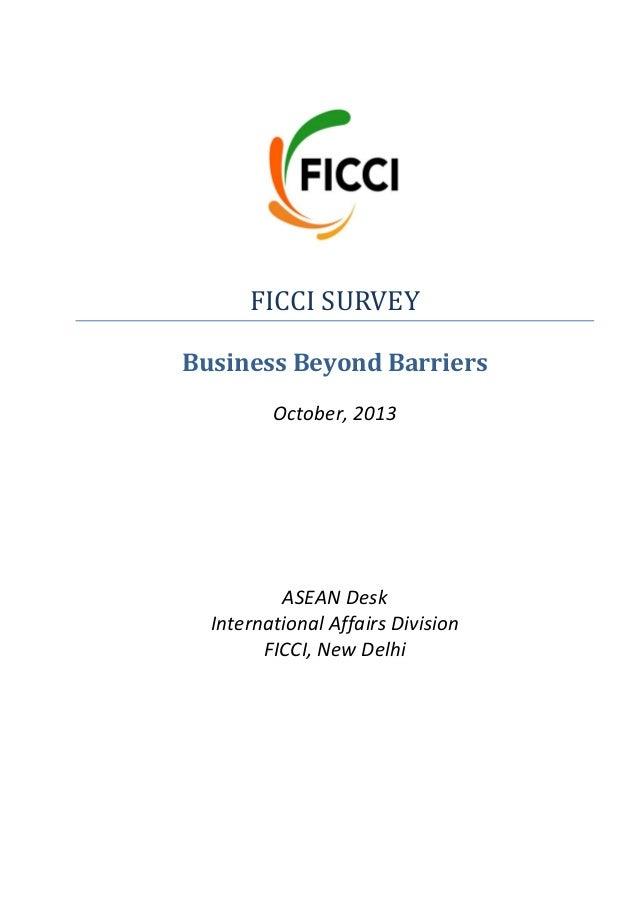 Asean  survey report