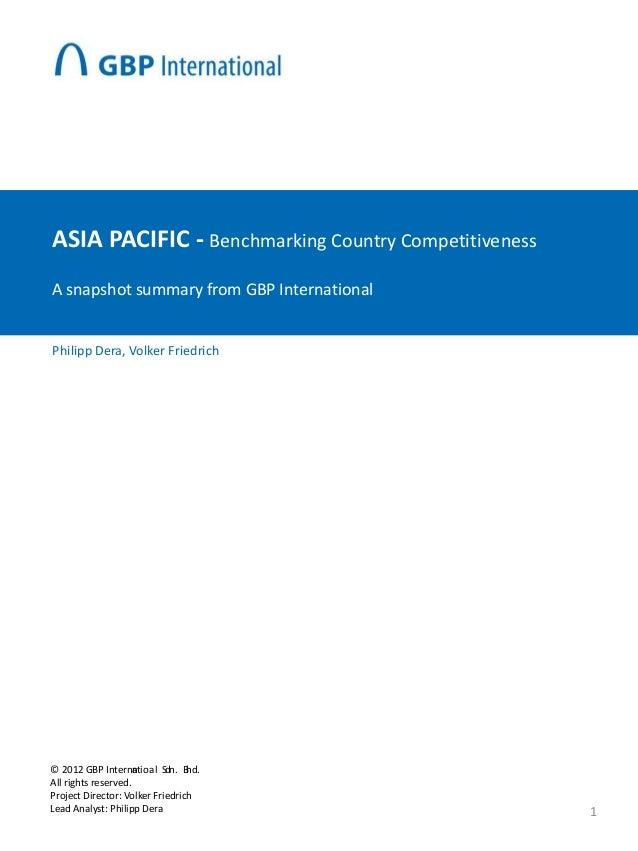 Asean Benchmark
