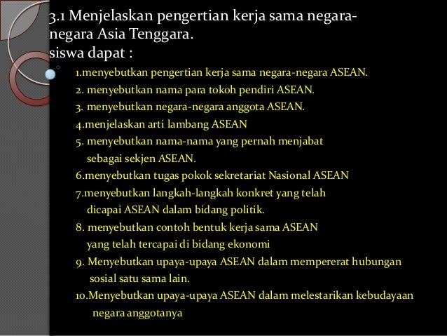 Asean kls 6