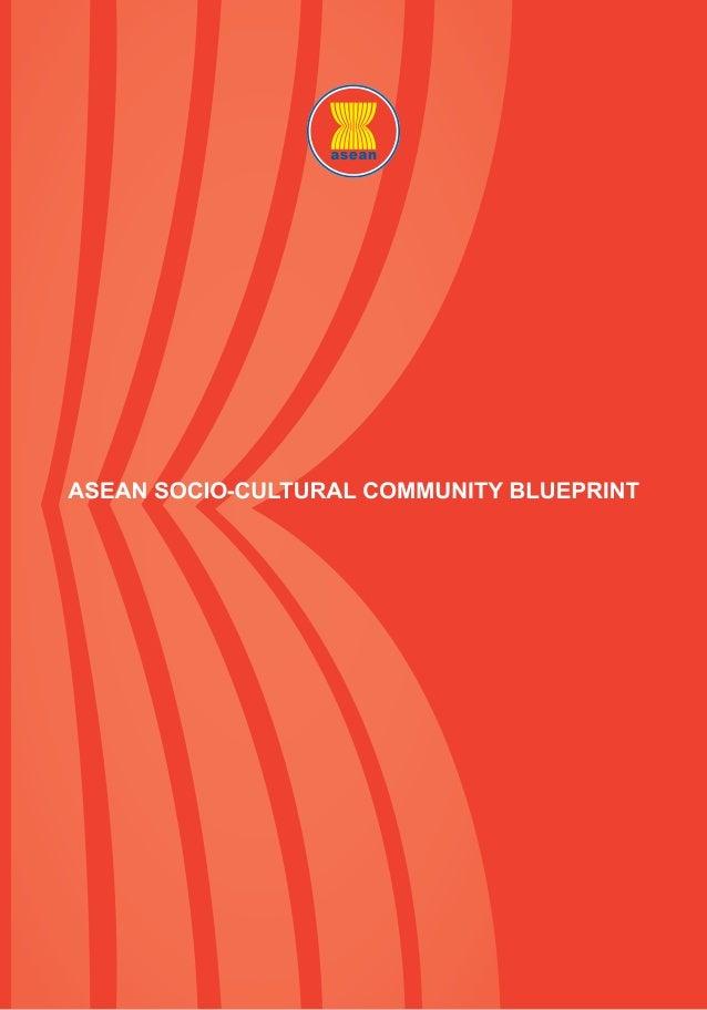 ASEAN Socio-Cultural Community Blueprint