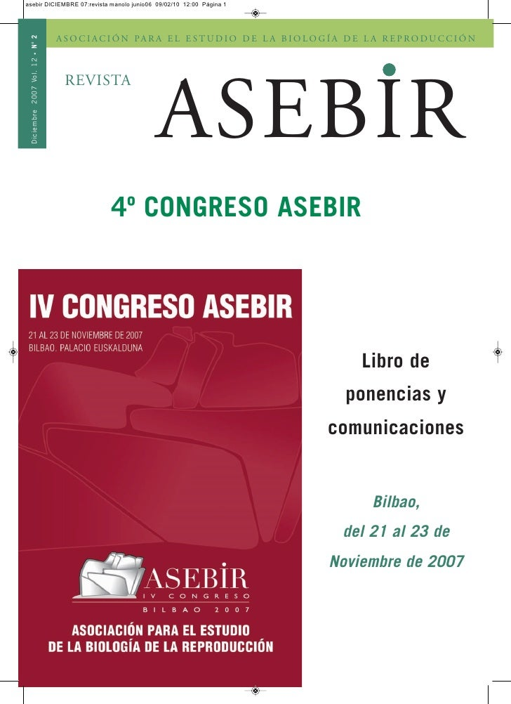 Revista Asebir diciembre 2007